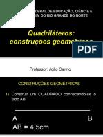 AULA8_Quadrilateros - Construcoes Geometricas