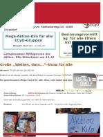 Mega Aktion Kilo Wetten-dass Einladung