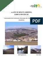 Estudio de Impacto Ambiental Sobre El Proceso De_ Concentración Parcelaria de Becerril Del Carpio Alar Del Rey (Palencia)