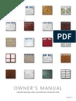 Garage Door Manuals Amarr Residential En