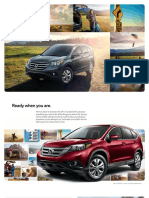 HONDA CR-V 2014 Brochure