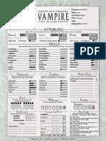 Jack Black Character Sheet