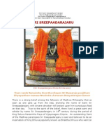 Sri Sreepaadarajaru