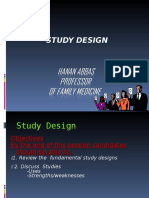 Final Study Design