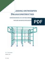 Handleiding Draagconstructies Ligger-kolom