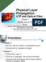 UTP and Optical Fiber