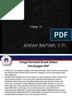 PHP Programming Seri 5