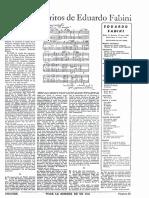Los Manuscritos de E. Fabini