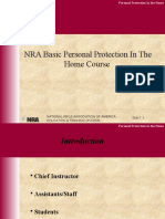 NRA Basic Personal Protection in the Home Course