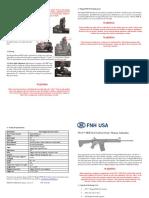 FN15 Magpul MOE SLG Carbine OM Addendum 36304 36306