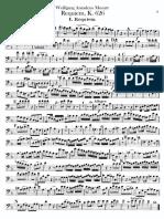 MOZART Requiem - Bassoon1