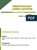 Elemen Lentur Des 2005