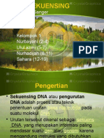 Ppt DNA Sekuensing