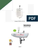 Urinoir TOTO U 57 M