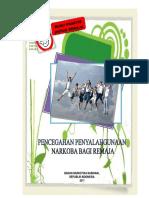Buku Pencegahan Penyalahgunaan Narkoba Bagi Remaja