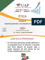 ETICA-propiedad