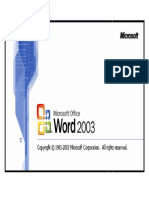 microsoft 2003 a
