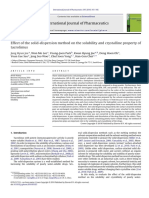 Joe, IJP, 2010, Effect of SD method on solubility and crystalline property of tacrolimus.pdf