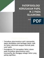 Patofisiologi Kerusakan Papil n II