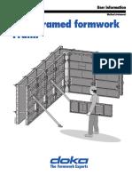 Doka Framed Formwork Panel (Foundation)