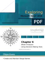 Microsoft Excel 2016 - What-if Analysis