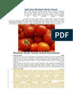 Segudang Khasiat Dan Manfaat Buah Tomat.docx