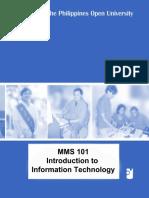 Mms 101_course Module