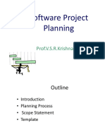 Sw Project Planning-2016
