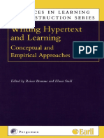 Writing Hypertext and Learning