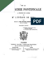 Gueranger de La Monarchie Pontificale