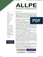 ALLPE Medio Ambiente - Consultoría Ambiental _ Estudio de Impacto Ambiental - InTRODUCCIÓN