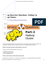 Hadoop Interview Questions _ Setting Up Hadoop Cluster _ Edureka
