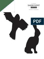 Shadow Puppets Owl Rabbit