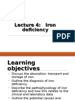4. Iron Deficiency