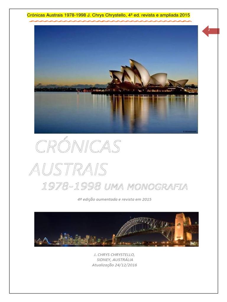07d8e424b48 Cronicas Austrais 1978 4edicao