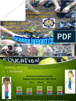 Bagong Silang School Report Card  Nov. 2016 PDF