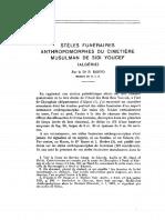 Stéle funéraires anrtopomorphes du cimetiere musulmant de sidi youcef Dr P Roffo.pdf