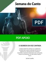 PDF - 2ª Semana Do Canto