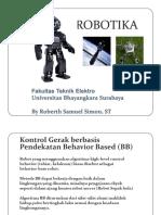 08 Kontrol Gerak Berbasis Pendekatan Behavior Based (BB)