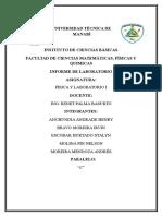 Informe de Laboratorio (MRU-MRUV)
