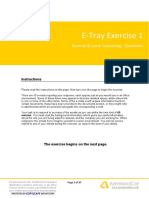 EtrayExercise1 Questions