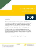 EtrayExercise2 Questions