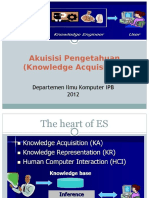 Kuliah 2 - Akusisi Pengetahuan