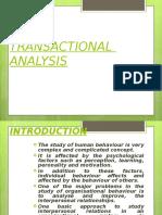 Transactional Analysis Final