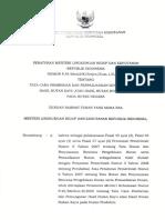 P.54 Thn 2016 Ttg Tata Cara Pemberian Dan Perpanjangan Izin Pemungutan