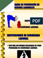 Inspecciones de Seguridad Laboral. Programa de Prevención de Riesgos Laborales - Presentación (19).ppt