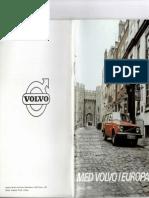 Med Volvo I Europa 1975
