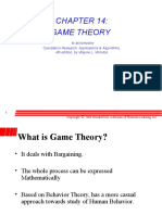 Ch 14 Game Theory
