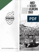 Med Volvo I Europa 1968