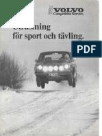 Volvo CS Utrusting För Sport Och Tävling.